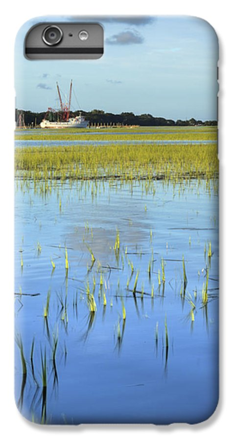 Sol Legare IPhone 7 Plus Case featuring the photograph Sol Legare Shrimp Boat by Dustin K Ryan