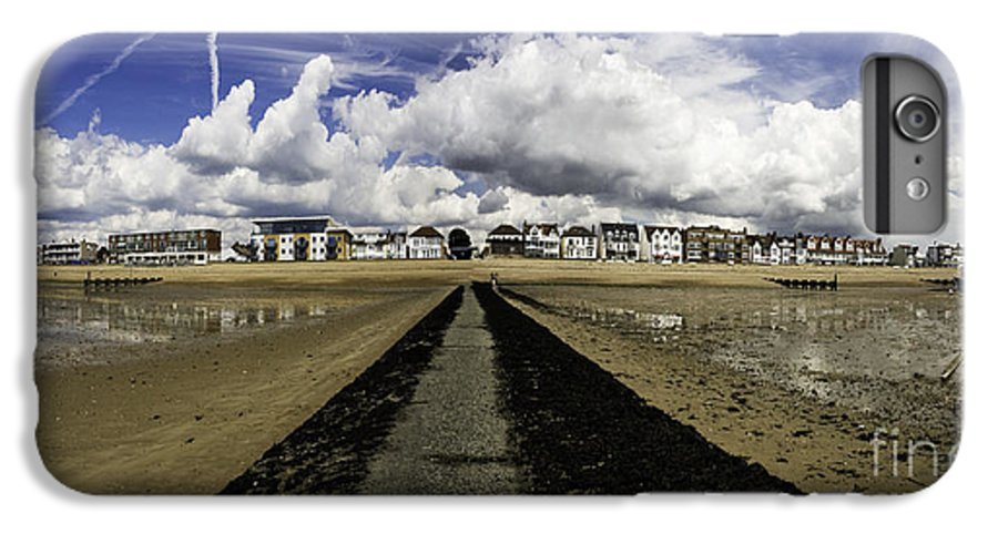 Southend On Sea IPhone 7 Plus Case featuring the photograph Southend On Sea Panorama by Sheila Smart Fine Art Photography