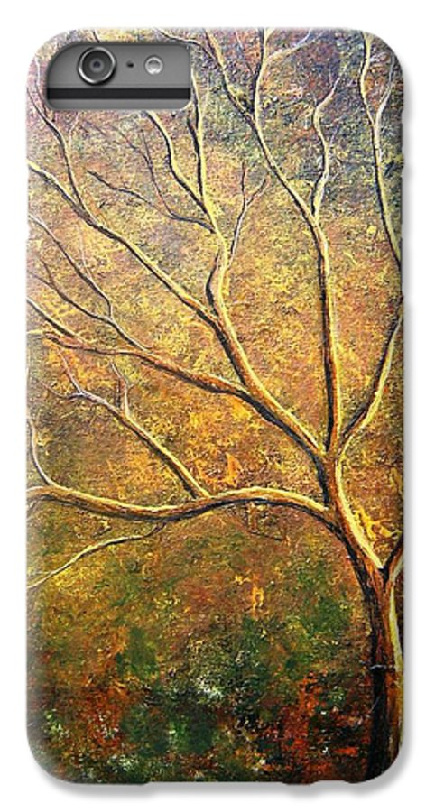 IPhone 7 Plus Case featuring the painting Spirit Tree 5 by Tami Booher