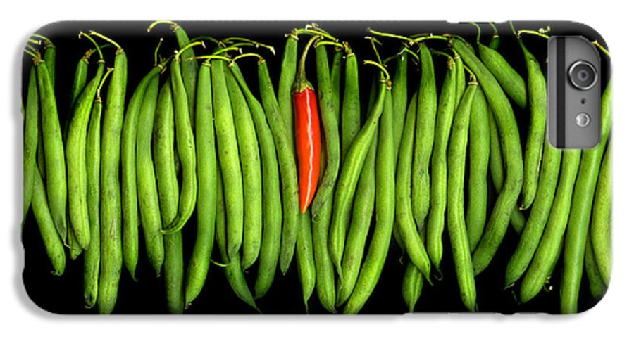 Culinary IPhone 7 Plus Case featuring the photograph Stringbeans And Chilli by Christian Slanec