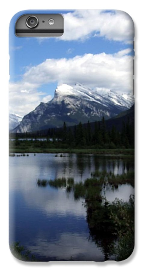 Landscape IPhone 7 Plus Case featuring the photograph Summertime In Vermillion Lakes by Tiffany Vest