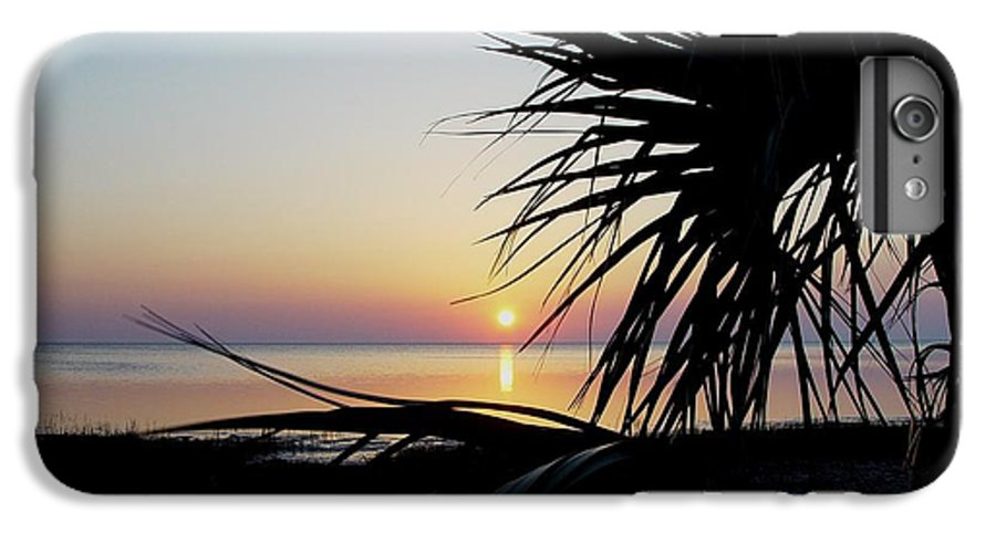 Sunset IPhone 7 Plus Case featuring the photograph Sun Touched by Debbie May