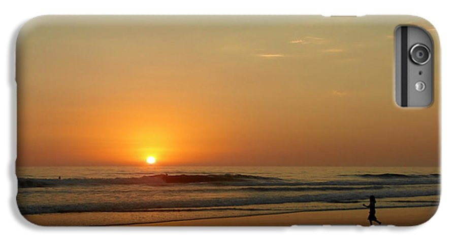 Pacific IPhone 7 Plus Case featuring the photograph Sunset Over La Jolla Shores by Christine Till