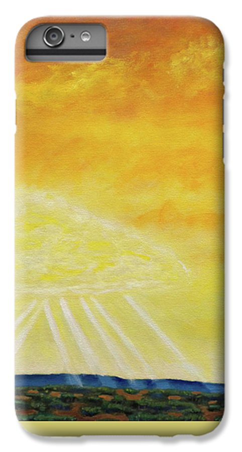 Landscape IPhone 7 Plus Case featuring the painting Super Seven by Brian Commerford