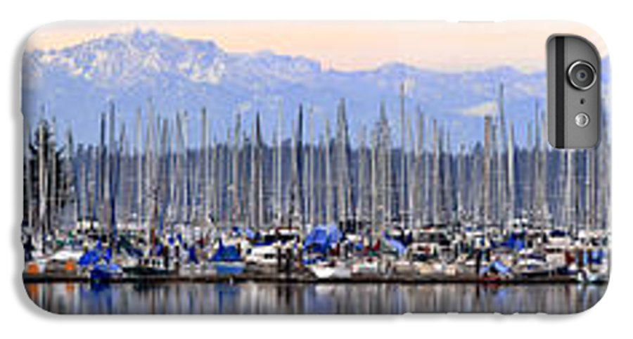 Landscape IPhone 7 Plus Case featuring the photograph Swantown Marina Olympia Wa by Larry Keahey