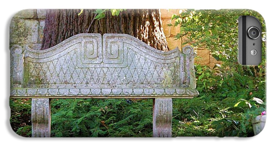 Bench IPhone 7 Plus Case featuring the photograph Take A Break by Debbi Granruth