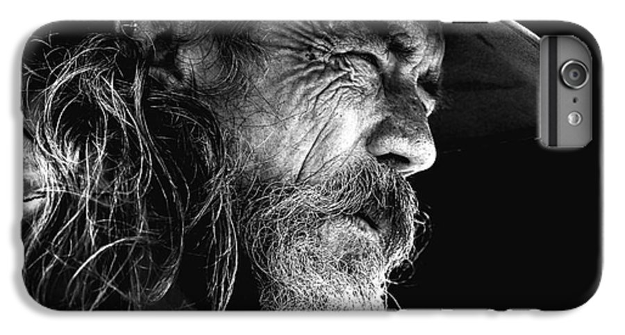 Australian Bushman Hat IPhone 7 Plus Case featuring the photograph The Bushman by Sheila Smart Fine Art Photography