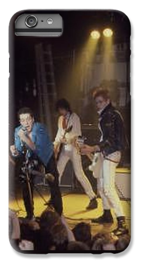 The Clash-london 1978 Photo By Dawn Wirth-copyrighted IPhone 7 Plus Case featuring the photograph The Clash-london - July 1978 by Dawn Wirth