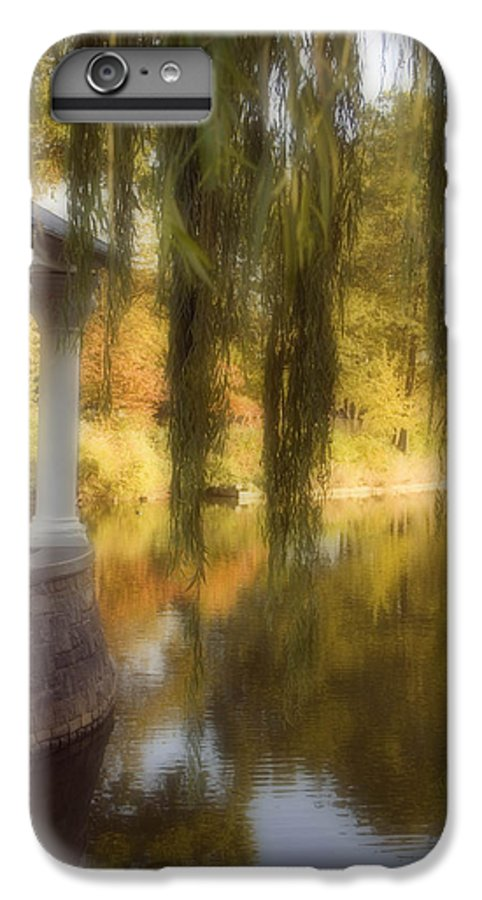 Water IPhone 7 Plus Case featuring the photograph The Gazebo by Ayesha Lakes