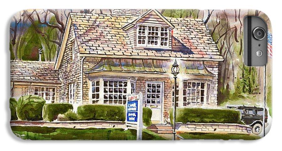 The Greystone Inn In Brigadoon IPhone 7 Plus Case featuring the painting The Greystone Inn In Brigadoon by Kip DeVore