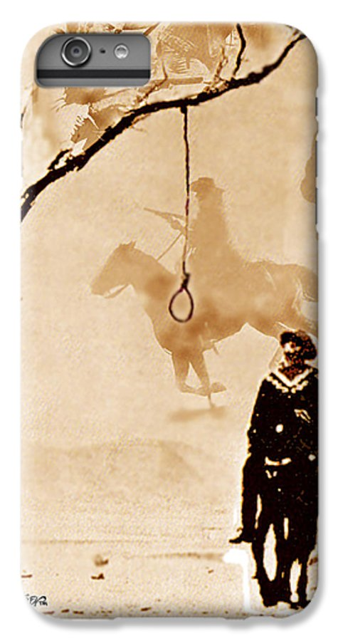 Clint Eastwood IPhone 7 Plus Case featuring the digital art The Hangman's Tree by Seth Weaver