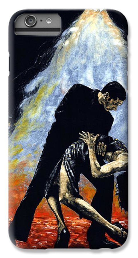 Tango IPhone 7 Plus Case featuring the painting The Intoxication Of Tango by Richard Young