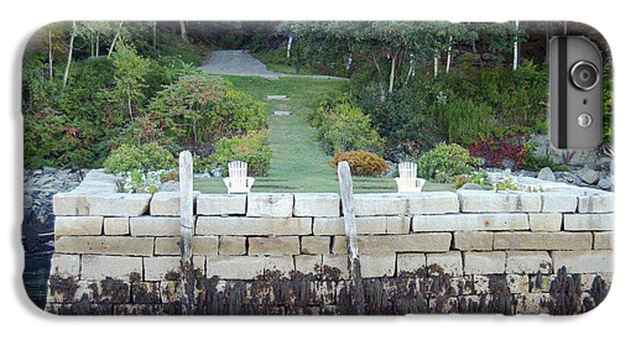 Granite IPhone 7 Plus Case featuring the photograph The Moon Garden by Faith Harron Boudreau