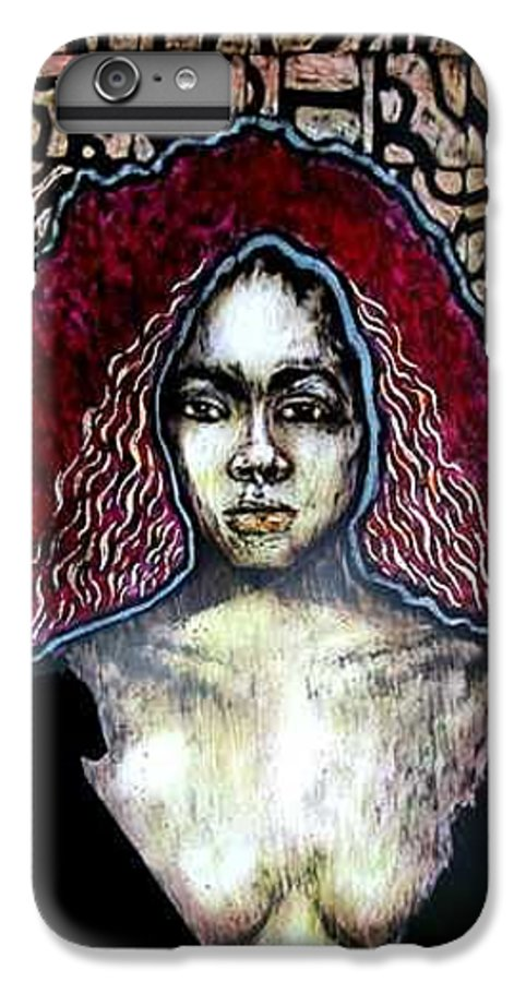 IPhone 7 Plus Case featuring the mixed media The Octoroon Ball by Chester Elmore