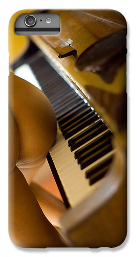 Sensual IPhone 7 Plus Case featuring the photograph The Piano by Olivier De Rycke