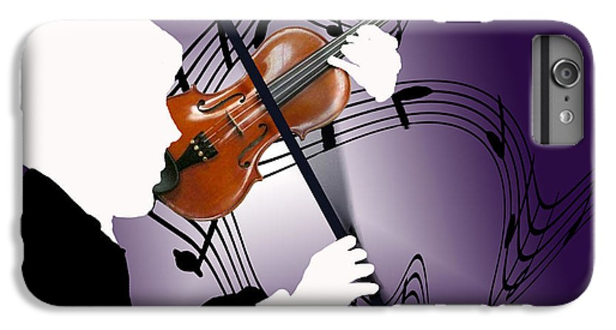 Violin IPhone 7 Plus Case featuring the digital art The Soloist by Steve Karol