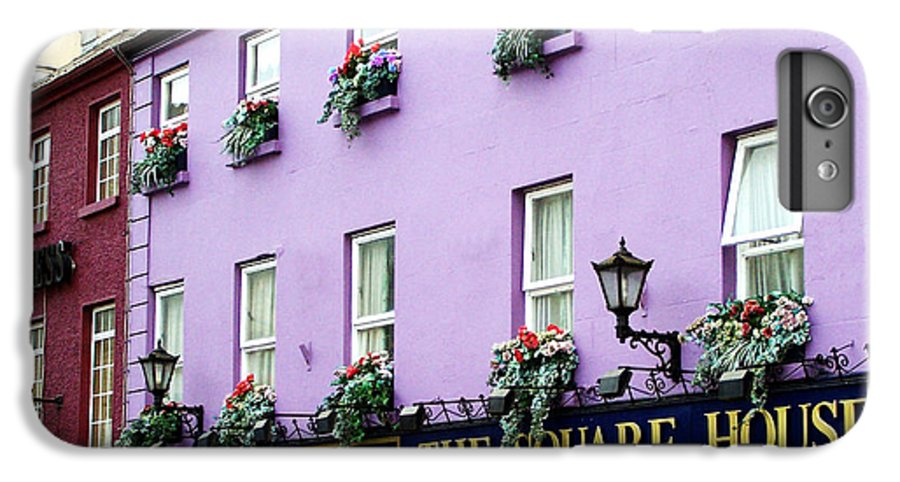 Irish IPhone 7 Plus Case featuring the photograph The Square House Athlone Ireland by Teresa Mucha
