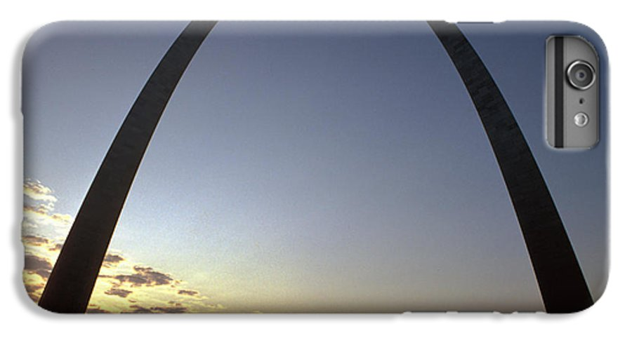 Landmark IPhone 7 Plus Case featuring the photograph The St. Louis Arch by Carl Purcell