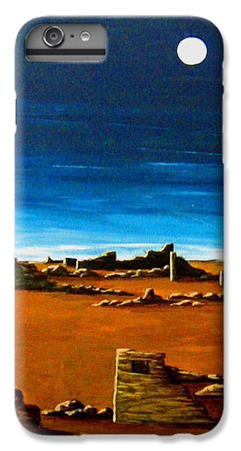Anasazi IPhone 7 Plus Case featuring the painting Timeless by Diana Dearen