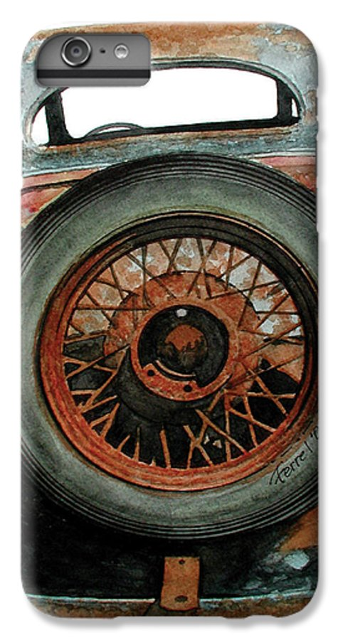 Car IPhone 7 Plus Case featuring the painting Tired by Ferrel Cordle