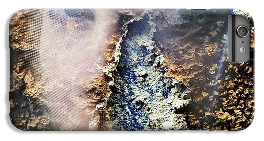 Female IPhone 7 Plus Case featuring the photograph Torn by Skip Hunt