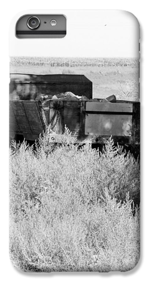 Farm IPhone 7 Plus Case featuring the photograph Trash Truck by Margaret Fortunato