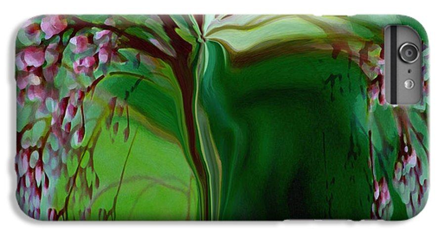 Tree Life Art IPhone 7 Plus Case featuring the digital art Tree Of Life by Linda Sannuti