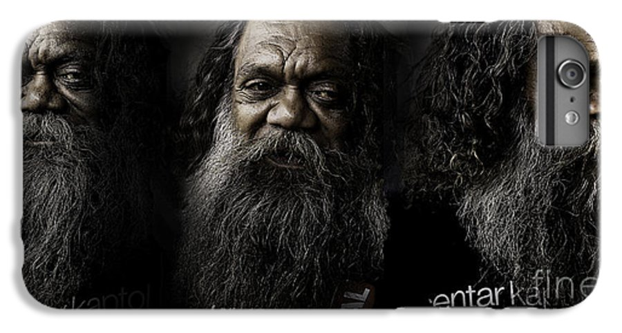 Triptych IPhone 7 Plus Case featuring the photograph Triptych Of Cedric by Sheila Smart Fine Art Photography