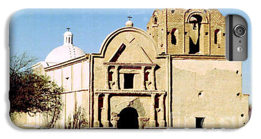 Mission IPhone 7 Plus Case featuring the photograph Tumacacori by Kathy McClure