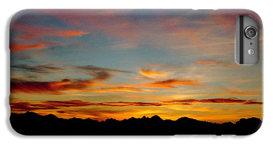 Arizona Sunset IPhone 7 Plus Case featuring the photograph Usery Sunset by Randy Oberg