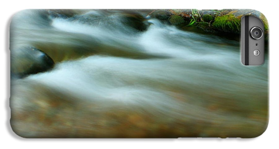 River IPhone 7 Plus Case featuring the photograph Velvet River by Idaho Scenic Images Linda Lantzy