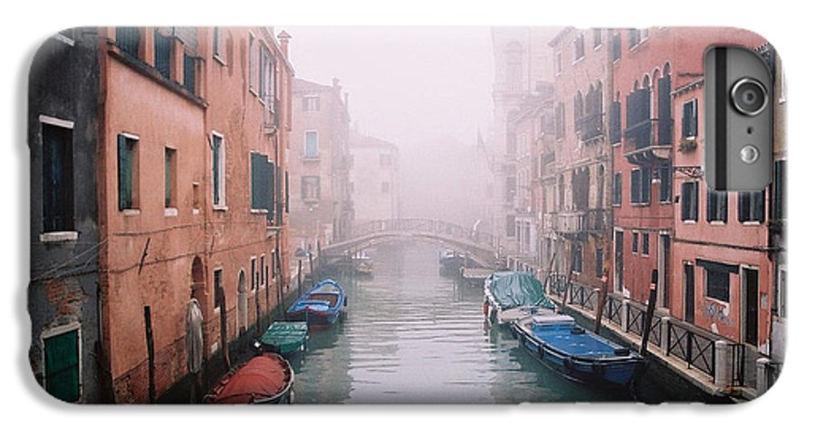 Venice IPhone 7 Plus Case featuring the photograph Venice Canal I by Kathy Schumann