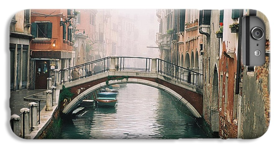 Venice IPhone 7 Plus Case featuring the photograph Venice Canal II by Kathy Schumann