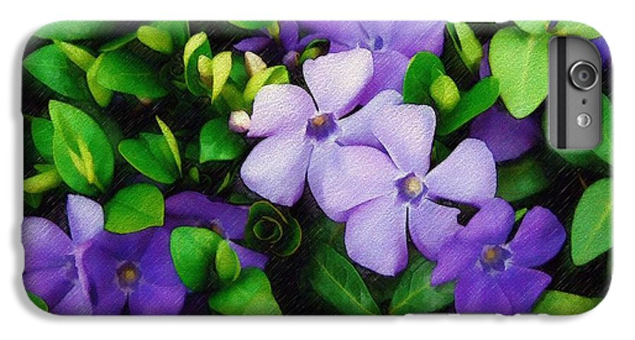Vinca IPhone 7 Plus Case featuring the photograph Vinca by Sandy MacGowan