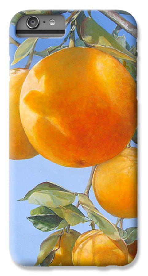 Floral Painting IPhone 7 Plus Case featuring the painting Vol D by Muriel Dolemieux