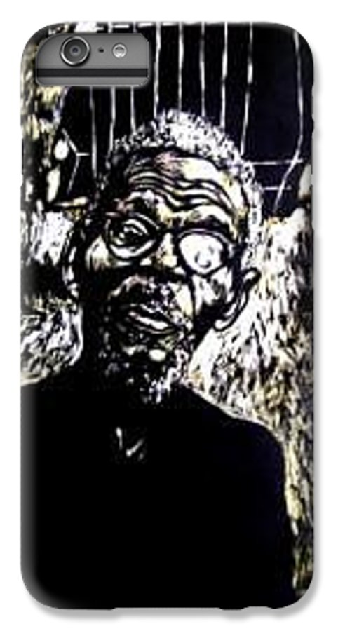 IPhone 7 Plus Case featuring the mixed media Walimu Wally by Chester Elmore