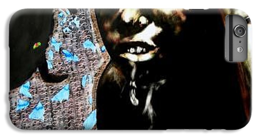 Social Commentary IPhone 7 Plus Case featuring the mixed media Water Is Life by Chester Elmore