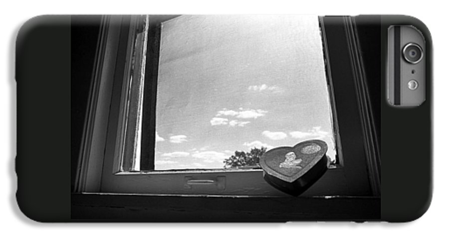 Window IPhone 7 Plus Case featuring the photograph What Remains by Ted M Tubbs