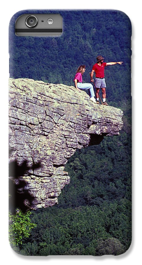 Geological IPhone 7 Plus Case featuring the photograph Whittiker Point In Arkansas by Carl Purcell