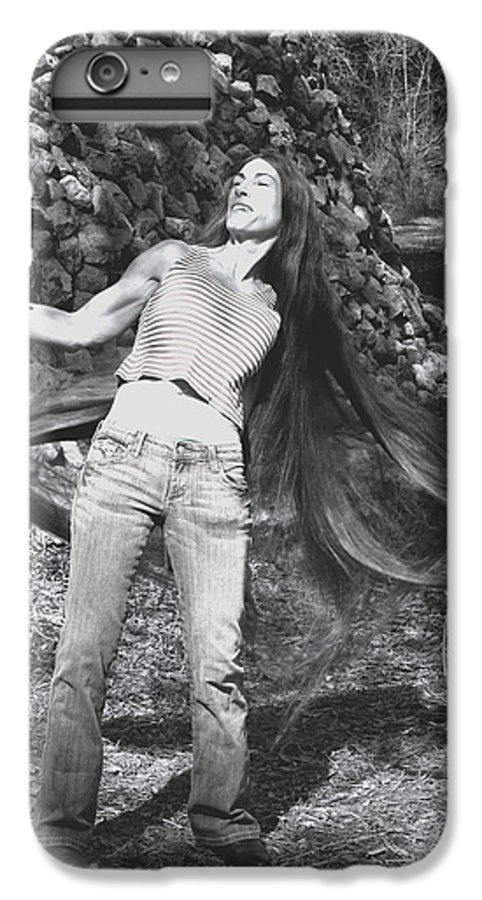 Hair IPhone 7 Plus Case featuring the photograph Wild Hair by Debbie May