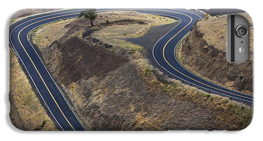 Road IPhone 7 Plus Case featuring the photograph Winding Road by Idaho Scenic Images Linda Lantzy