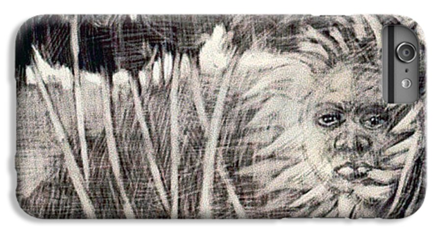 IPhone 7 Plus Case featuring the mixed media Windy by Chester Elmore