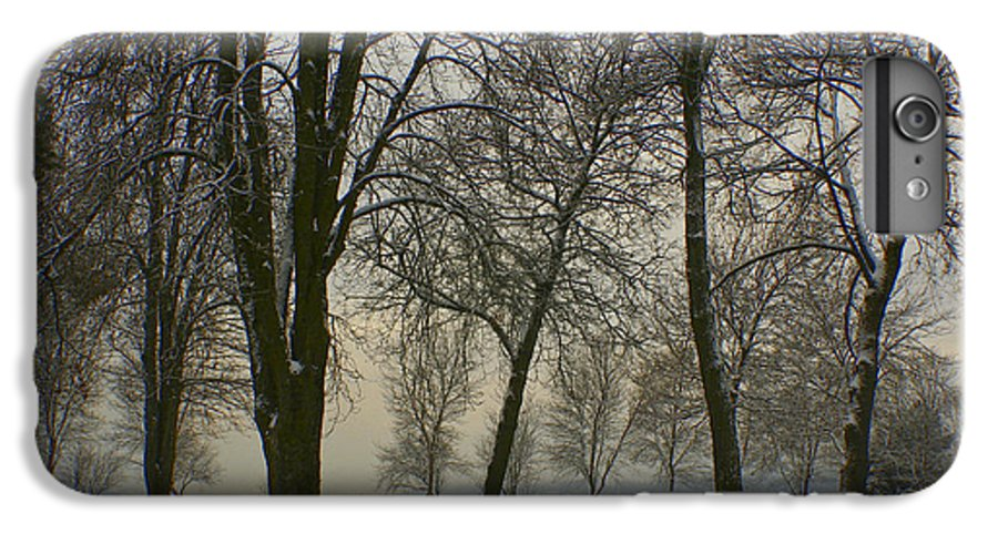 Park IPhone 7 Plus Case featuring the photograph Winter Wonderland by Idaho Scenic Images Linda Lantzy