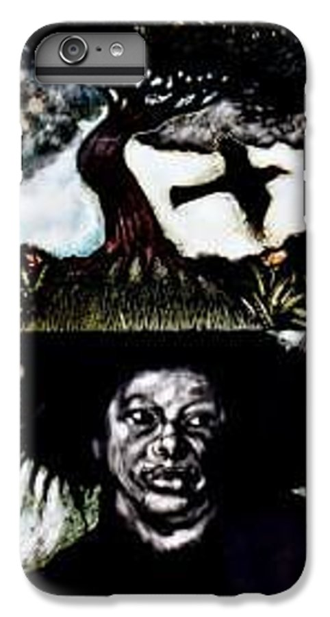 Religous IPhone 7 Plus Case featuring the mixed media Yemiya by Chester Elmore