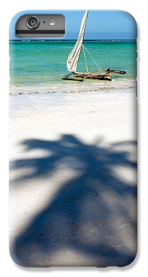 3scape IPhone 7 Plus Case featuring the photograph Zanzibar Beach by Adam Romanowicz