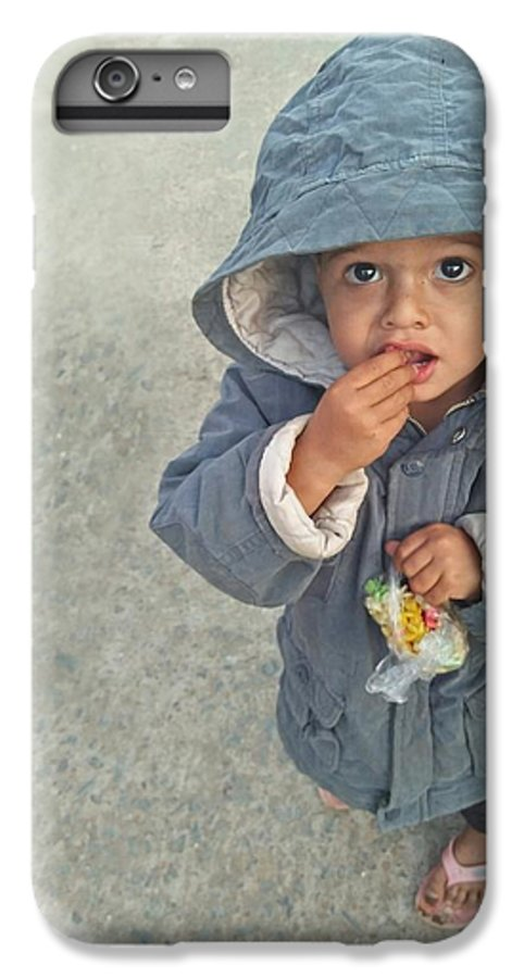 Cute IPhone 7 Plus Case featuring the photograph Cute Baby by Imran Khan