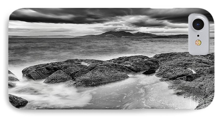 Arran IPhone 8 Case featuring the photograph A Storm Brewing by John Farnan