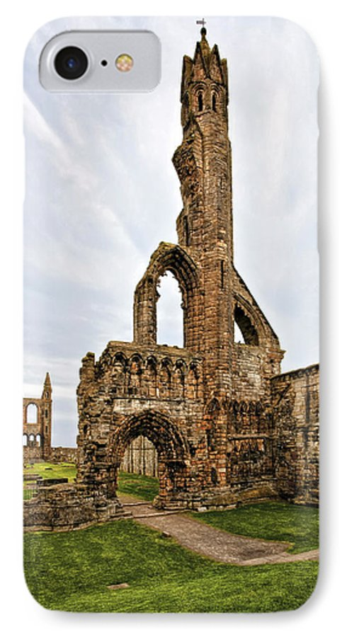 Architecture IPhone 8 Case featuring the photograph St. Andrews by Marcia Colelli