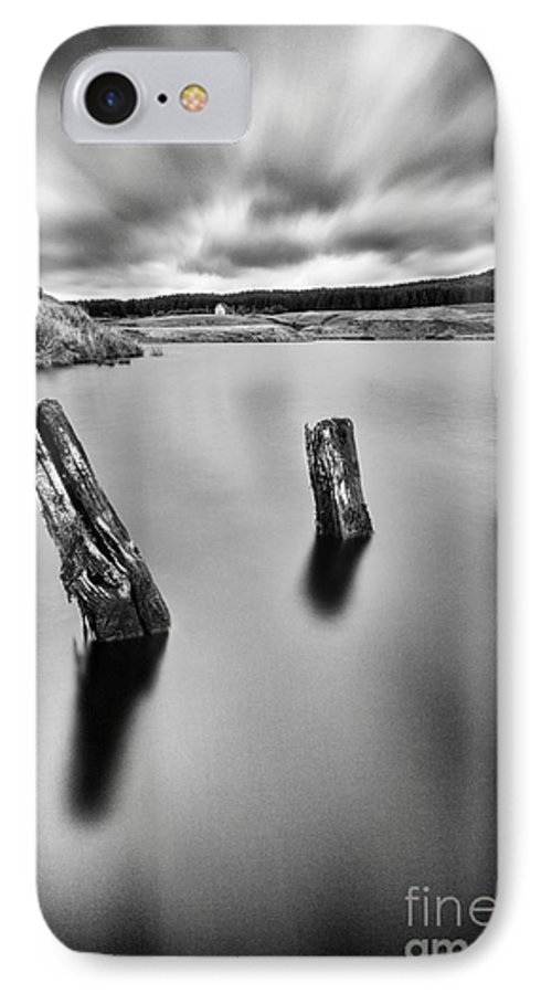 Landscape IPhone 8 Case featuring the photograph Perfectly Still by John Farnan