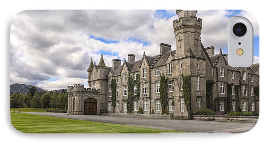 14th IPhone 8 Case featuring the photograph Balmoral Castle by Patricia Hofmeester
